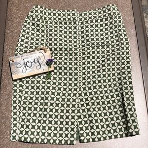LOFT Geometric Pencil skirt | Size 2